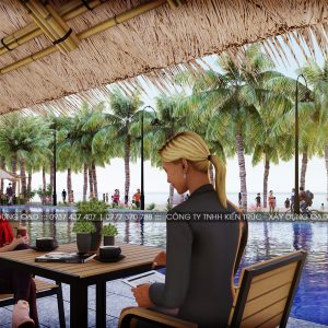 Swimming Pool Cafe Sala Beach 6